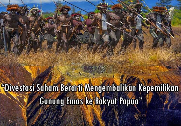 gunung emas milik rakyat Papua