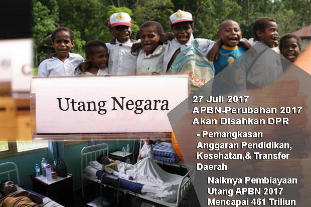 """DPR Akan Mengesahkan APBN-P 2017: Pemangkasan """"Transfer Daerah, Pendidikan, Kesehatan"""", Naiknya Pembiayaan Utang"""